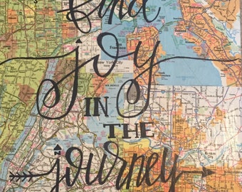 Map Collage Etsy - Us map photo collage
