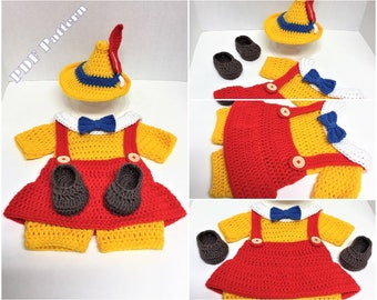 Pinocchio costume etsy for Pinocchio hat template