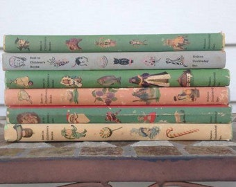 Vintage Bundle of 6 Best in Children's Books Set by Various Authors 1958 1959