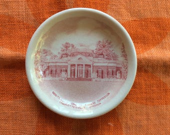 Monticello Home of Thomas Jefferson trinket / Collector Plate
