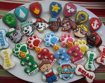 Paw Patrol cookie platter