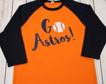 Go Astros Baseball Shirt