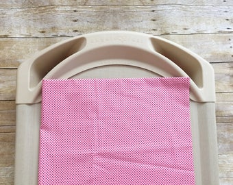 SALE! Red Hearts Daycare Cot Sheet | Daycare Cot Sheet | Tiny Hearts