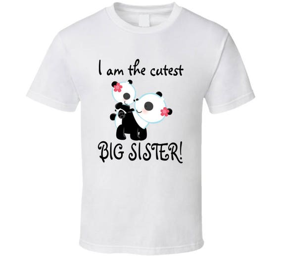 Big Sister Shirt, Big Sister Outfit, Baby Homecoming Outfit,cute T-shirt For Big Sisters!