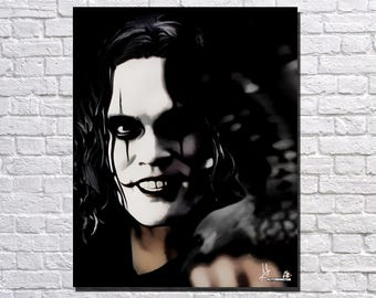 The Crow Digital Painting Print