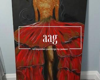 Aag - Acrylic Painting