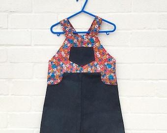 Retro style Pinafore dresses  (handmade)