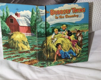SALE! The Bobbsey Twins in the Country, by Laura Lee Hope, 1953