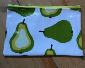 Pear Purse/ make up bag / travel bag