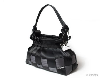 Recycled seatbelts handbag - BAS 74-13