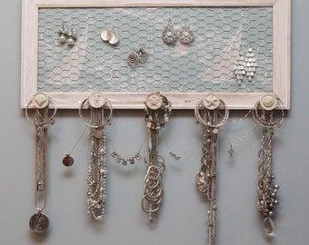 Wall Jewelry Holder - Nautical - FREE SHIPPING!