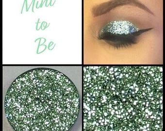 Mint To Be - Multi-Tonal Light Green Pressed Glitter