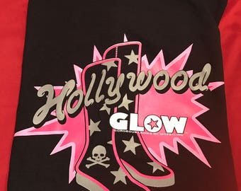 Hollywood/Boots/ crew Tshirt - 2X Only