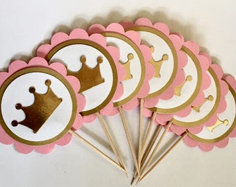 Lovely Princess Baby Shower | Crown Baby Shower Decorations 12, Gold Princess Baby  Shower Decorations,