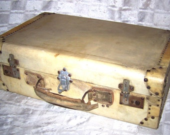 Suitcase parchment skin - Suitcase Parchment skin and wood