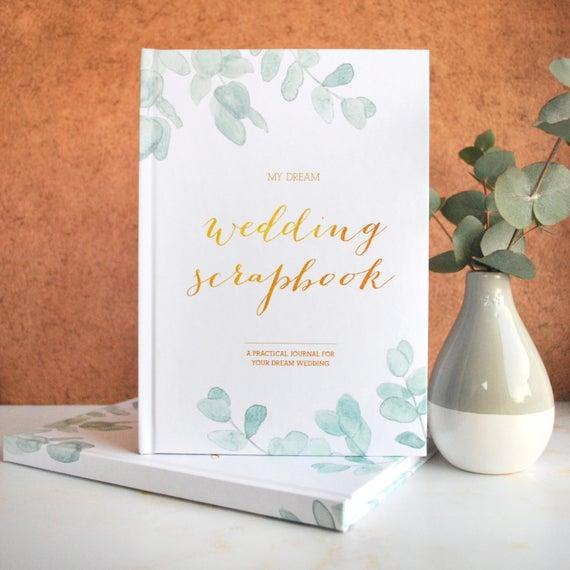 Wedding Planner And Scrapbook Eucalyptus Free Card