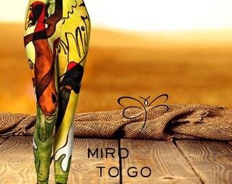 Miro To Go  Women's 'ArtWear' Leggings