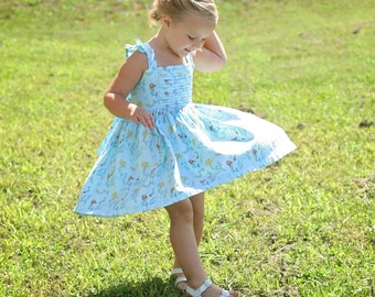 Girls Sundress - Custom dress - Princess Persephone Dress - Party Dress - Toddler Dress - Baby Dress - Custom girls dress - Graduation Dress