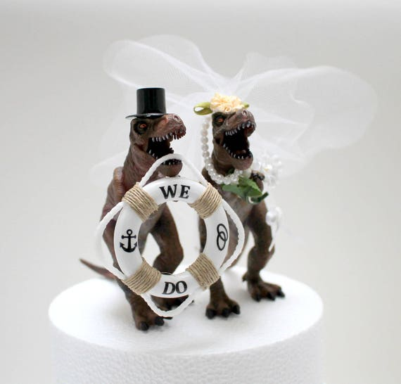 animal wedding cake toppers uk custom dinosaur wedding cake topper animal wedding cake 10775