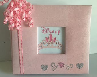Disney Princess  8 x 8 Scrapbook Premade Album