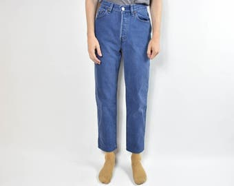 Vintage Blue Levis High Waisted Mom Jeans