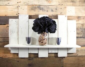 Industrial Shelf / Industrial Shelves / Pallet Shelves / Shelf Decor / Industrial Shelving / Rustic Shelves / Rustic Shelf / Pallet Shelf
