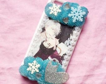 Ready to ship! Decoding Yuri on ice phone case cell phone case iPhone 6 / 6s