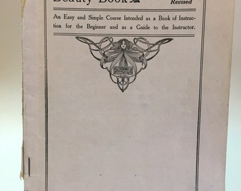 1910 Stencil Book: Richardson's American Beauty Book No. 6