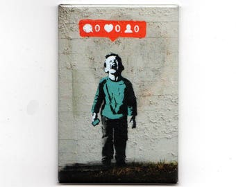 Banksy - Needy Children Magnet