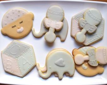 Baby Shower #1 Cookie Cutter Set