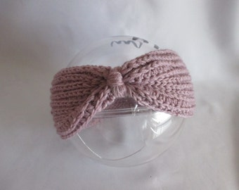 Baby Headband Selfmade turban Ear warmer with merino Earwarmer headband