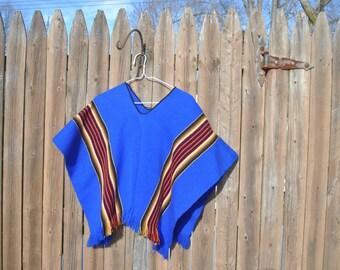 Electric Blue Kimono