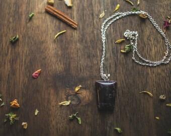 Beautiful Amethyst pendant | amethyst necklace | Handmade necklace
