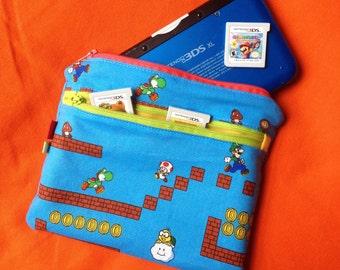 Nintendo 3DS XL case Mario Luigi