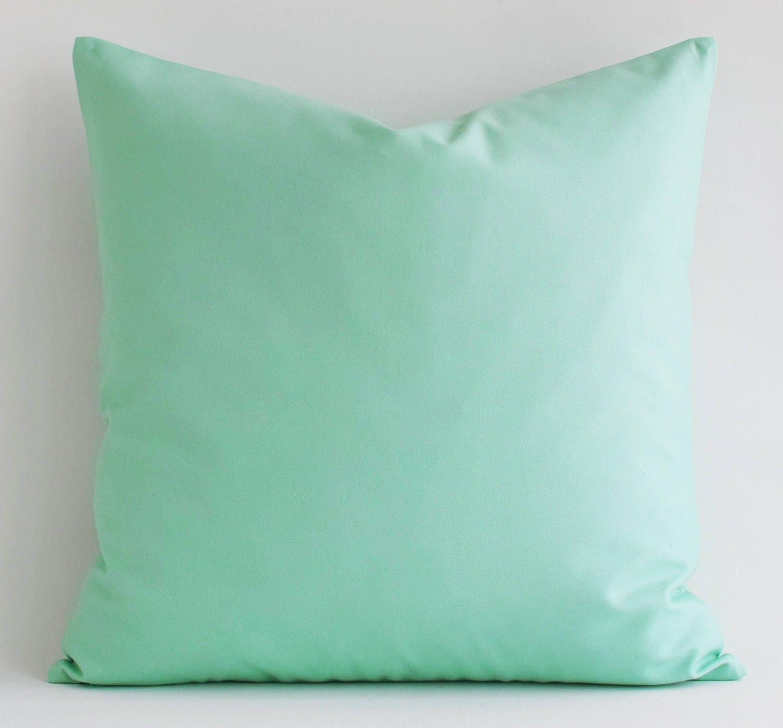 vente menthe vert coussin couvre taies doreiller. Black Bedroom Furniture Sets. Home Design Ideas