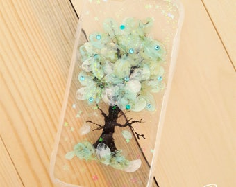 Dried Flower Tree Resin Case Iphone6/6s