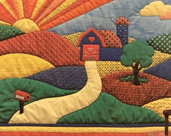 Calico Hill Farms quilting pattern