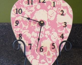 Giant Guitar Pick Clock