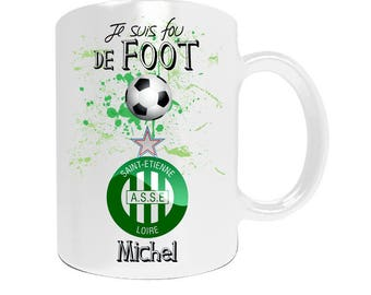 Mug personalized enough football league1 with your name