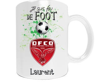 Professional Dijon football league1 with your name personalized mug