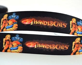 """Thundercats Kids Retro Inspired Printed Grosgrain Ribbon 1 """""""