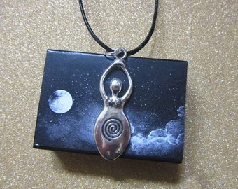 Mother Goddess pendant - talisman - mother of creation of all universe