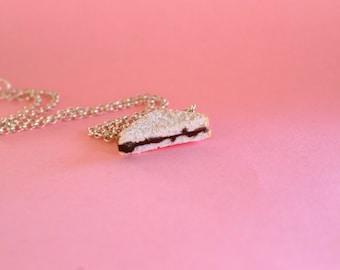 Nutella Sandwich Necklace