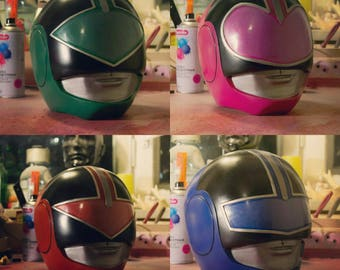 Helmet of the power rangers