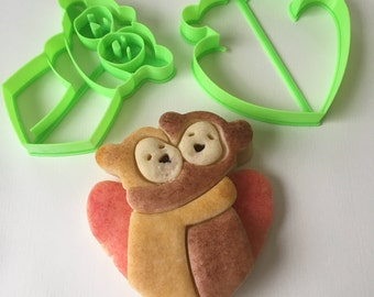 Sweet Hugs Cookie Cutter Set
