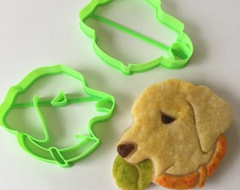 Retriever with Ball Cookie Cutter Set