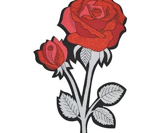 Rose Back Patch