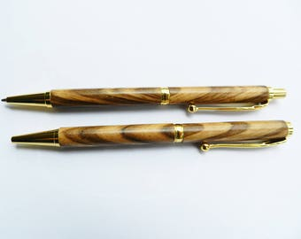 Executive pen and pencil