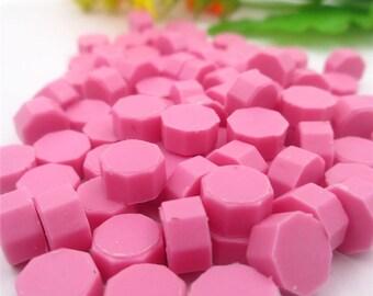 Sealing wax/wax seal 50 piece set pink (4)