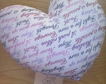 Pillow heart.